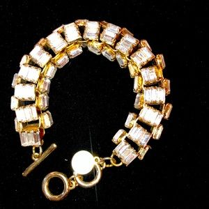 COPY - WHBM baguette stone bracelet